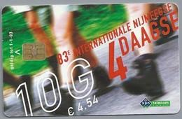 NL.- Telefoonkaart. 10 GULDEN. KPN Telecom. 83e INTERNATIONALE NIJMEEGSE 4 DAAGSE. - Sport
