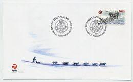 GREENLAND 2000 Sirius Sledge Patrol On FDC.  Michel 346 - FDC