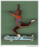 SURYA BONALY *** N°2 *** Signe STARPIN'S *** A001.... - Patinage Artistique