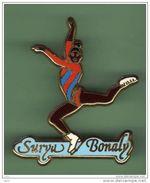 SURYA BONALY *** N°2 *** Signe STARPIN'S *** A001.... - Skating (Figure)
