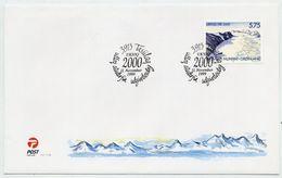 GREENLAND 1999 Milennium On FDC.  Michel 343 - FDC