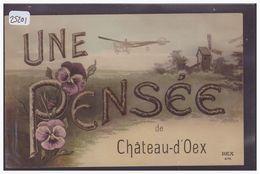 DISTRICT DU PAYS D'ENHAUT - UNE PENSEE DE CHATEAU D'OEX - TB - VD Vaud