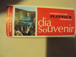Lot De 12 Diapositives Park National Plitvice Yougoslavie Année 70 - Photographie