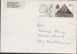 3233   Carta  Freiburg Tiengen 1987 Noria - [7] República Federal