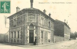 91 - CROSNE - ESSONNE - RUE ESNAULT PELTERIE - LA POSTE - VOIR SCANS - Crosnes (Crosne)