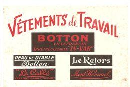Buvard BOTTON Vêtement De Travail BOTTON Villefranche Irrétrécissable IN-VAR - Textile & Clothing