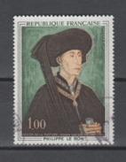 FRANCE / 1969 / Y&T N° 1587 : Philippe Le Bon (De La Pasture) - Choisi - Cachet Rond - Frankreich