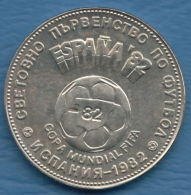 F7196 / - 2 Leva - 1980 - World Football Championship SPAIN 82 - Bulgaria Bulgarie Bulgarien - Coins Monnaies Munzen - Bulgaria