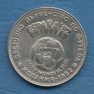 F7202 / - 2 Leva - 1980 - World Football Championship SPAIN 82 - Bulgaria Bulgarie Bulgarien - Coins Monnaies Munzen - Bulgarien