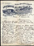 FACTURE OU LETTRE  ANCIENNE AVEC ILLUSTRATION- ANGLETERRE- BIRSTALL POUR FRANCE- MAISON : HIEST & SON- 1905 - Australia
