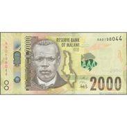 TWN - MALAWI NEW - 2000 2.000 Kwacha 1.6.2016 Prefix AA UNC - Malawi