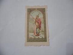 SANTINO HOLY CARD  SANCTUS ATTALUS. - Religion & Esotericism