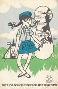 11472-SCOUTISMO-DANIMARCA-DET DANSKE PIGESPEJDERKORPS-FG - Scoutismo
