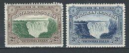 Southern Rhodesia SG 29-30, Mi 30-31 * MH - Zuid-Rhodesië (...-1964)