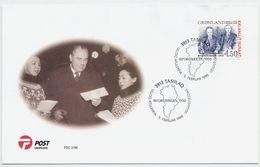GREENLAND 1998 New Order Of 1950 On FDC.  Michel 315 - FDC