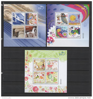 Greece 2015 > Mi ... > Personal Stamps > Set Of 3 Mini Sheets > New MNH ** - Greece