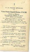 DO 3 OORLOGSSLACHTOFFER  2 WO  ° MONCEAU SUR SAMBRE 1910GEKWETS TE MAASTRICHT + AIX LA CHAPELLE 1940 VICTOR STACHE (foto - Religion & Esotericism