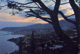 Sanremo - Panorama Notturno - 444 - Formato Grande Viaggiata – E 4 - Imperia