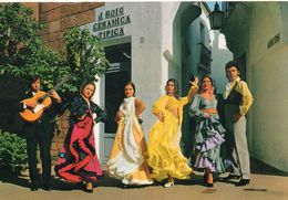 Espagne Iles Baléares Flamenco Danse Danseuses Danseur Musicien Guitare - Espagne