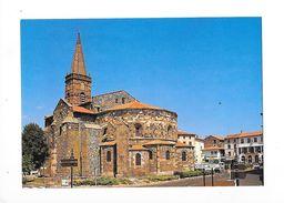 SAINT-PAULIEN  (cpsm 43)   Eglise Romane Du 12° Siècle -   - L 1 - Altri Comuni