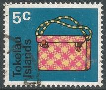 Tokelau Islands. 1971 Handicrafts. 5c Used. SG 28 - Tokelau