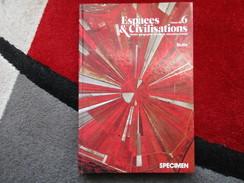 """Espaces & Civilisations """"Classe De 6e"""" Spécimen / éditions Belin De 1977 - Books, Magazines, Comics"""