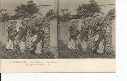 CARTE STEREOSCOPIQUE  Environs D'ARRAS    Les Zouaves - Guerre 1914-18