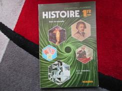 """Histoire 1er """"Hier Le Monde"""" (Ch.O. Carbonell / J. Rives) éditions Delagrave De 1982 - Books, Magazines, Comics"""