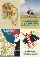 LOTTO 4 CARTOLINE CARNEVALE VIAREGGIO  ANNULLI SPECIALI (A CARN210 - 1981-90: Marcofilie