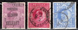 Grande-Bretagne YT N° 118/120 Oblitérés. B/TB. A Saisir! - 1902-1951 (Kings)