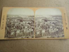 PHOTOS STEREOSCOPIQUES PHOTO STEREO   Paris - Stereoscopic