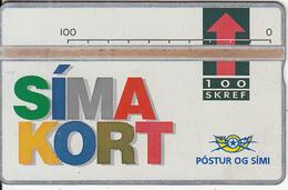 ICELAND - Simakort(05), CN : 208A, Tirage 15000, Used - Iceland