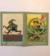 Calendarietto Barbiere Bergougnan Tedeschi Torino 1919 - Calendari