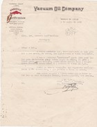 PORTUGAL OLD DOCUMENT 1936 - VACUUM OIL COMPANY - GARGOYLE LUBRIFICANTES - Portugal