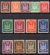 1922/23. Allemagne, Poste Aérienne  3/7 Et  8/14 + 19. Deutsche Flugpost. - Luchtpost