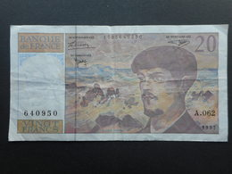 France 20 Francs 1997 Debussy - 1962-1997 ''Francs''