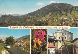 78 - 1972 - Saluti Da Chiaves - Monastero Di Lanzo - Viaggiata - Autres