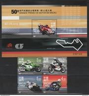 Macao - Macau (2016) - Set + Block -  /  Moto - Motorbike - Grand Prix - Motorbikes