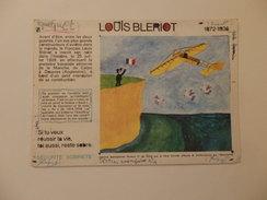 Buvard Sur Louis Blériot. - Vloeipapier