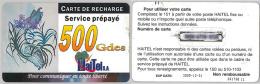 PREPAID PHONE CARD HAITI (E8.2.6 - Haiti