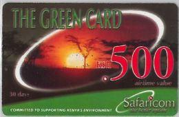 PREPAID PHONE CARD KENYA (E8.9.5 - Kenya