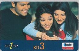 PREPAID PHONE CARD KUWAIT - VODAFONE (E8.14.8 - Kuwait