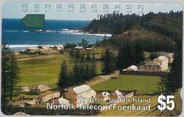 PHONE CARD NORFOLK (E8.17.3 - Norfolk Island