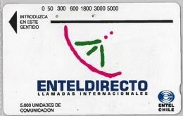 PHONE CARD CILE (E9.3.3 - Chile