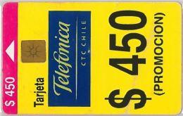 PHONE CARD CILE (E9.5.1 - Chile