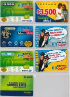 LOT 7 PREPAID PHONE CARD CILE (E9.7.1 - Chile