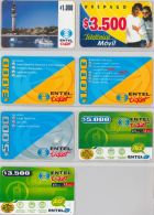 LOT 7 PREPAID PHONE CARD CILE (E9.8.1 - Chile