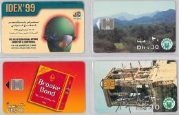 LOT 4  PHONE CARD UNITED ARAB EMIRATES (E9.28.5 - United Arab Emirates