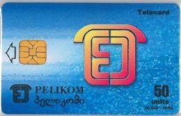 PHONE CARD GEORGIA (E10.1.6 - Georgien