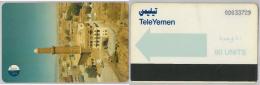 PHONE CARD YEMEN ARAB REP. (E10.8.5 - Yemen